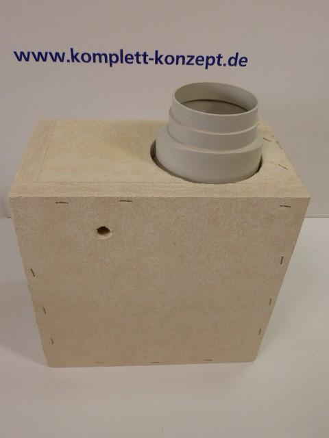 Vendux E 140 Badezimmerlüfter Unterputzgehäuse Für Wand  Und Deckeneinbau