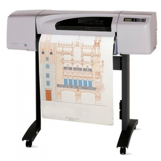 hp designjet 500 plus drucker din a1 plotter ebay. Black Bedroom Furniture Sets. Home Design Ideas