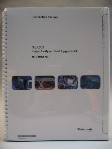 Tektronix TLA7UP Logic Analyzer Instruction Manual