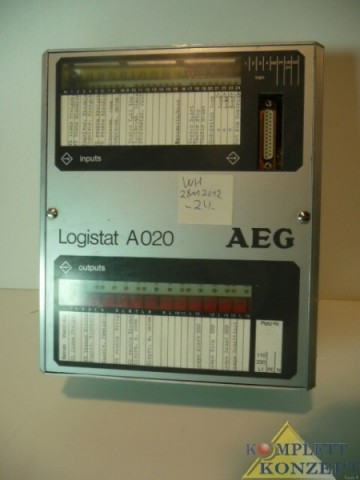 AEG  Messwandler Logistat A020