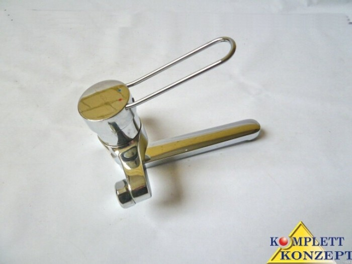hansa wasserhahn einhand wandbatterie armatur pa ix 7123 iz ebay. Black Bedroom Furniture Sets. Home Design Ideas