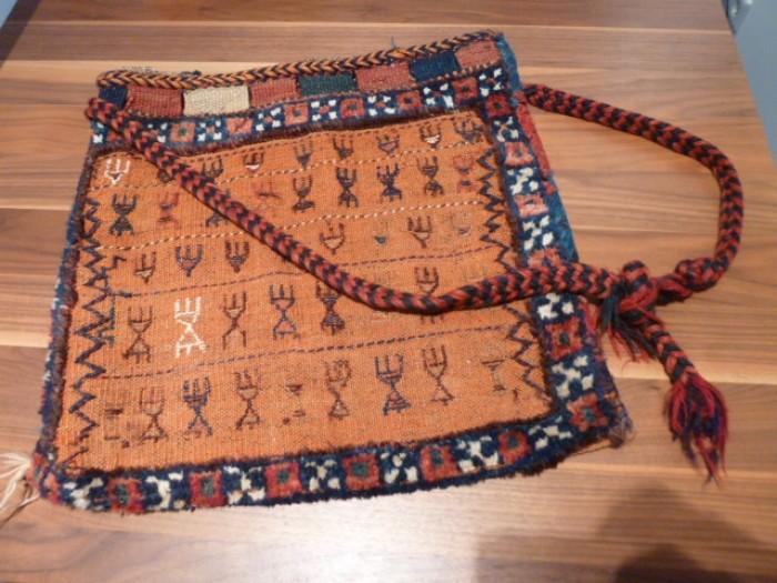 Orientalische Nomaden Teppich Salztasche Satteltasche Tasche