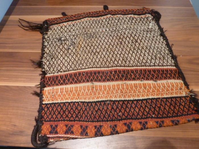 Orientalische Nomaden Teppich Tasche Salztasche Webtasche