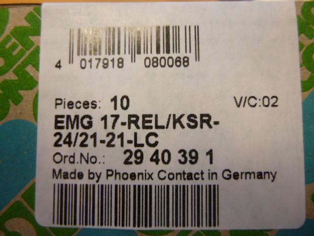 Phoenix-Contact-EMG-17-REL-KSR-24-21-21-LC-Relaismodul-Relais-Relaismodul
